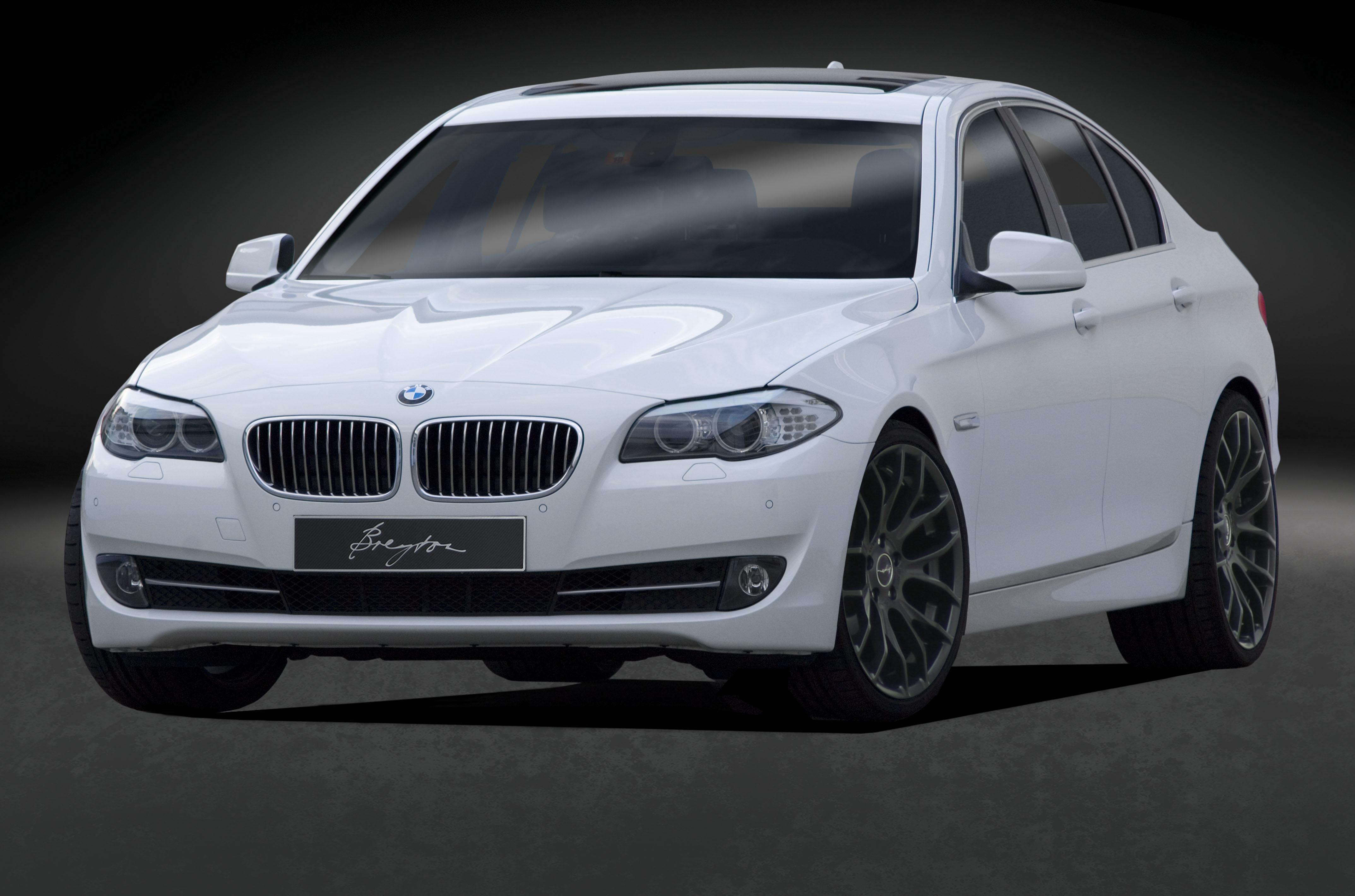 5er-F10-weiss-front-RACE-GTS-20-Zoll-Matt-Black